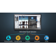 Eboard Samsung DM65E BC PingView intégré