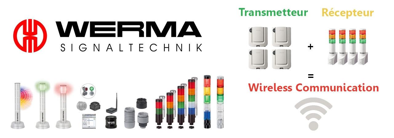 Werma - Signalisation optique et sonore